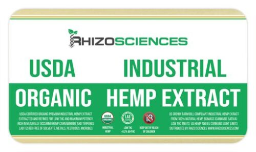 Hemp Extracts and Concentrates
