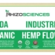 CBG Hemp Biomass 15% USDA Organic