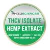 THCV Isolate - 1g Tetrahydrocannabivarin THCV