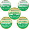 Hemp Oil Sampler: CBD FS + CBD 90 + CBD/CBDA 90 + CBD 99 + CBG 90 + CBGA 90 + CBGA 99 + CBG 99