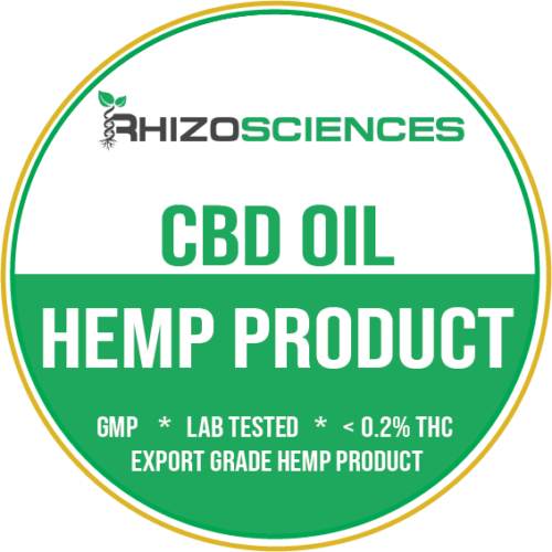 CBD OIL - FINISHED PRODUCTS